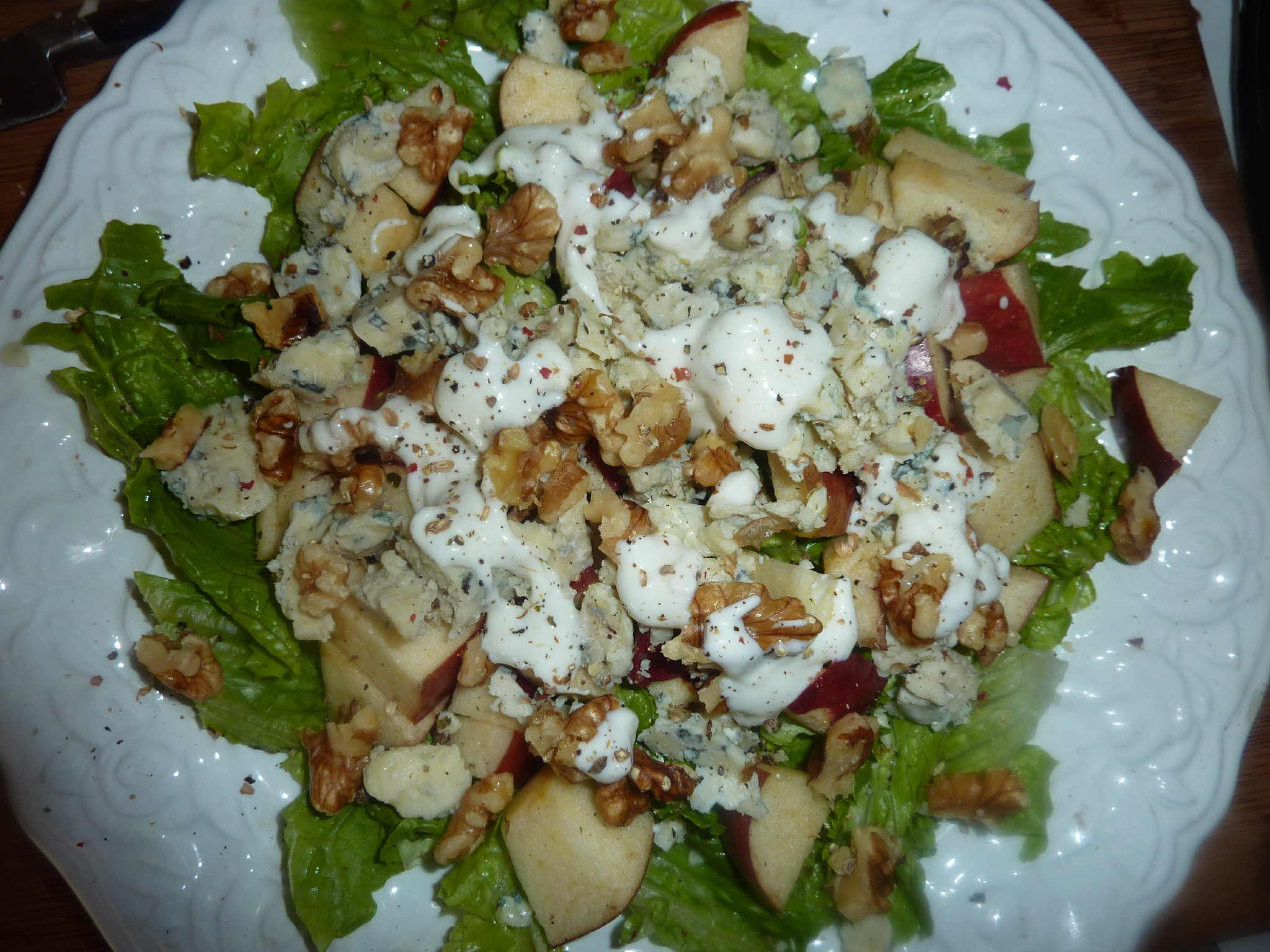 "Apple, Walnut and Bleu Cheese Salad | ""Deja Vu"" Cook"
