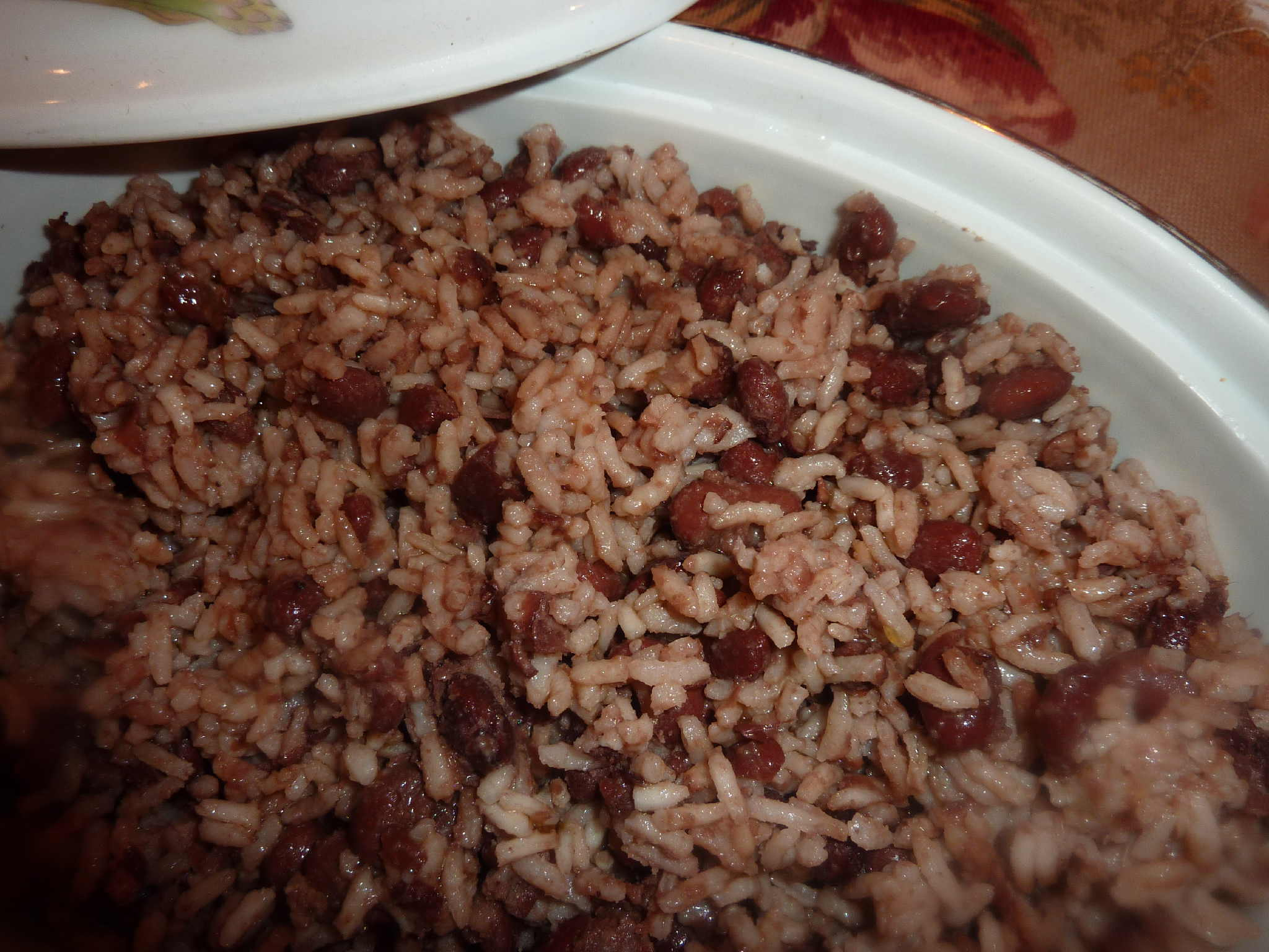 Rice and Red Beans (Riz et Pois Rouges)