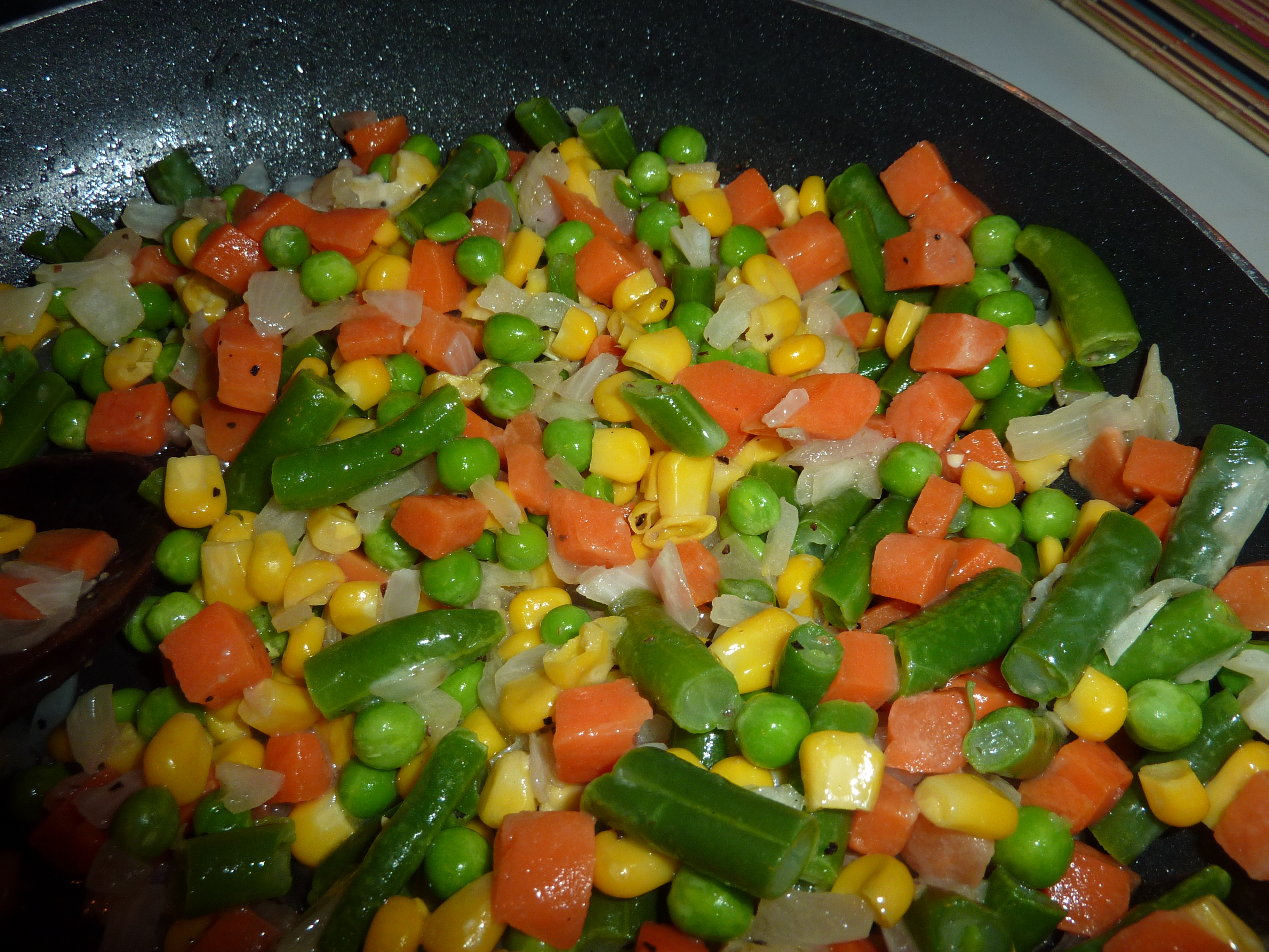 how to cook mixed vegetables in the oven
